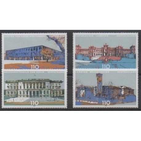 Allemagne - 1998 - No 1806/1809 - Monuments