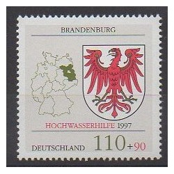 Germany - 1997 - Nb 1770 - Coats of arms