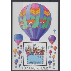 Allemagne - 1997 - No BF39 - Ballons - Dirigeables - Enfance