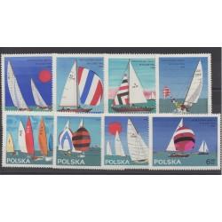 Poland - 1965 - Nb 1440/1447 - Boats