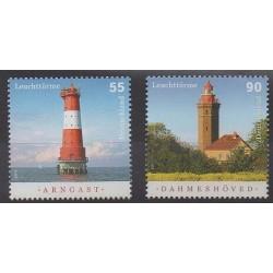 Germany - 2011 - Nb 2705/2706 - Lighthouses