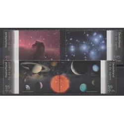 Germany - 2011 - Nb 2708/2711 - Astronomy