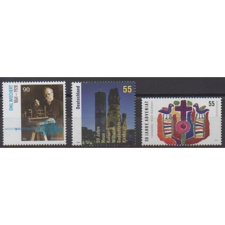 Allemagne - 2011 - No 2722/2724