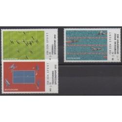 Allemagne - 2012 - No 2749/2751 - Sports divers