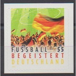 Allemagne - 2012 - No 2754A - Football