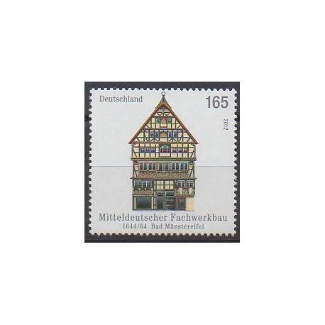 Allemagne - 2012 - No 2755 - Architecture