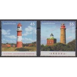 Germany - 2012 - Nb 2766/2767 - Lighthouses