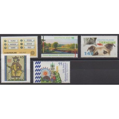 Allemagne - 2012 - No 2768/2772