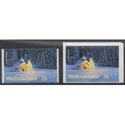 Allemagne - 2012 - No 2788/2789 - Noël