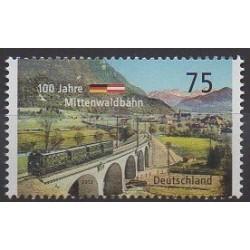 Allemagne - 2012 - No 2776 - Chemins de fer