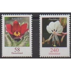 Allemagne - 2012 - No 2794/2795 - Fleurs
