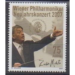 Austria - 2007 - Nb 2457 - Music