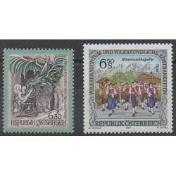 Austria - 1997 - Nb 2055/2056 - Folklore