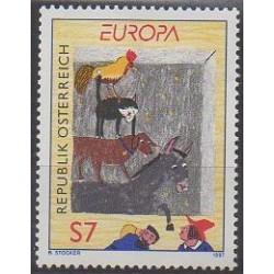 Autriche - 1997 - No 2050 - Littérature - Europa