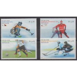 Allemagne - 2010 - No 2606/2607 - 2613/2614 - Sports divers