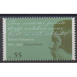 Allemagne - 2010 - No 2621 - Musique