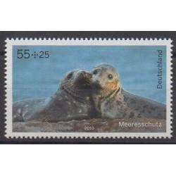 Allemagne - 2010 - No 2620 - Vie marine - Mammifères