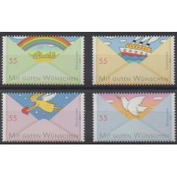 Allemagne - 2010 - No 2611/2612 - 2615/2616