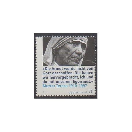 Allemagne - 2010 - No 2638 - Célébrités - Religion
