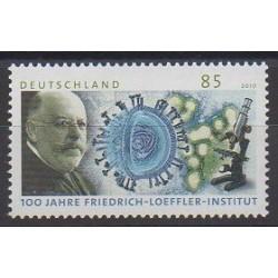 Allemagne - 2010 - No 2650 - Santé ou Croix-Rouge