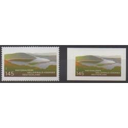 Allemagne - 2011 - No 2667 et 2688 - Parcs et jardins
