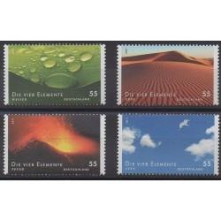Allemagne - 2011 - No 2678/2681 - Sciences et Techniques