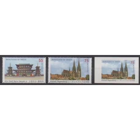 Allemagne - 2011 - No 2669/2671 - Églises
