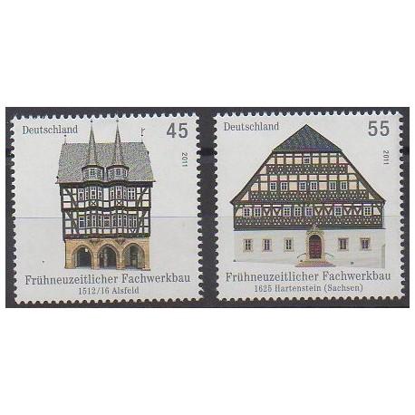 Allemagne - 2011 - No 2686/2687 - Architecture