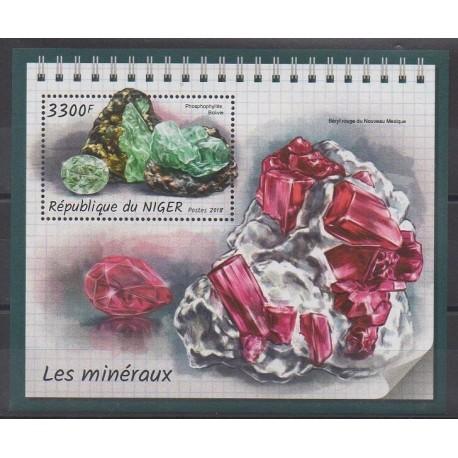 Niger - 2018 - No BF898 - Minéraux - Pierres précieuses