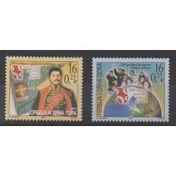 Yougoslavie (Serbie et Monténégro) - 2004 - No 3015/3016