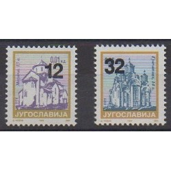 Yougoslavie (Serbie et Monténégro) - 2004 - No 3047/3048 - Églises