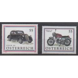 Austria - 2006 - Nb 2441/2442 - Motorcycles - Cars