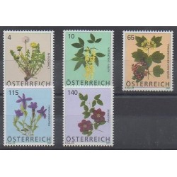 Austria - 2007 - Nb 2505/2509 - Flowers