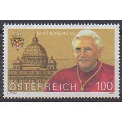 Austria - 2007 - Nb 2477 - Pope