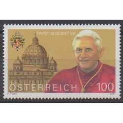 Autriche - 2007 - No 2477 - Papauté