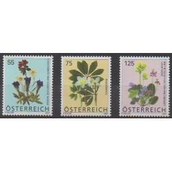Austria - 2007 - Nb 2458/2460 - Flowers