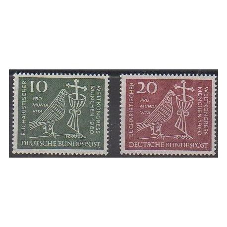 Allemagne occidentale (RFA) - 1960 - No 203/204 - Religion