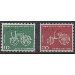 Allemagne occidentale (RFA) - 1961 - No 235/236 - Transports