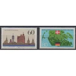 Allemagne occidentale (RFA) - 1985 - No 1072/1073