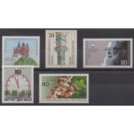Allemagne occidentale (RFA) - 1985 - No 1082/1086