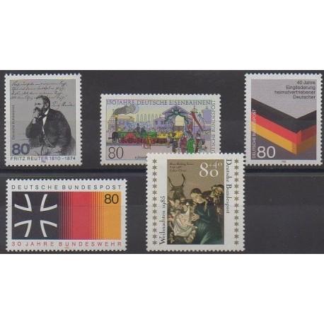Allemagne occidentale (RFA) - 1985 - No 1095/1099
