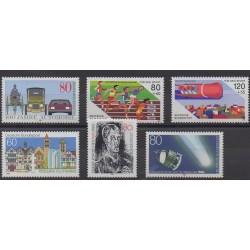 Allemagne occidentale (RFA) - 1986 - No 1100/1105