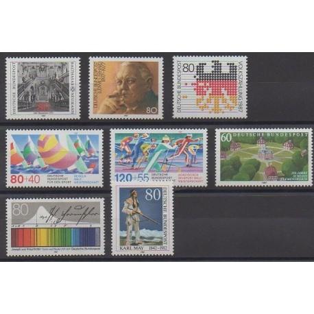Allemagne occidentale (RFA) - 1987 - No 1139/1146