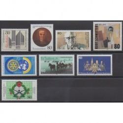 Allemagne occidentale (RFA) - 1987 - No 1155/1162