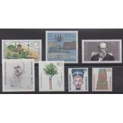 Allemagne occidentale (RFA) - 1988 - No 1201/1207