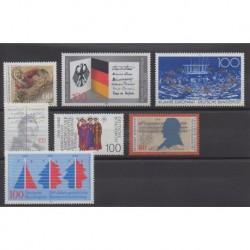 Allemagne occidentale (RFA) - 1989 - No 1252/1258