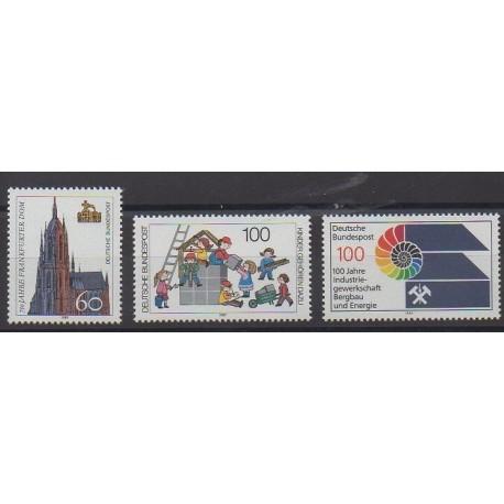 Allemagne occidentale (RFA) - 1989 - No 1266/1268