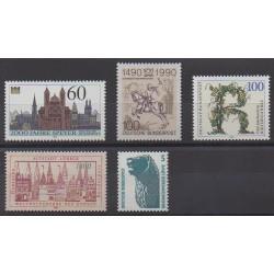 Allemagne occidentale (RFA) - 1990 - No 1276/1280