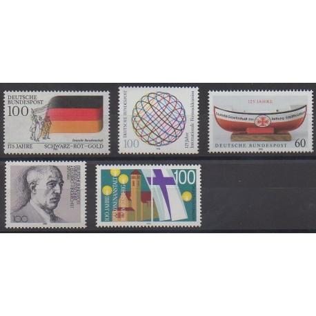 Allemagne occidentale (RFA) - 1990 - No 1295/1299