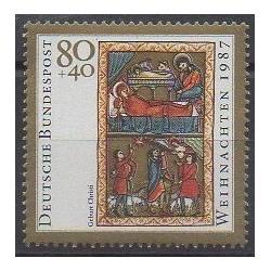 Allemagne occidentale (RFA) - 1987 - No 1178 - Noël